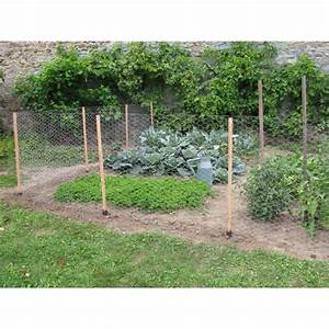 Cloture De Jardin : kit de cl ture potager en bois 10 m pour prot ger votre jardin ~ Premium-room.com Idées de Décoration