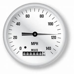 Classic Speedometer Vector | Free Download