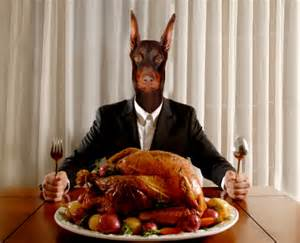 dogman turkey dinner stock photo getty images