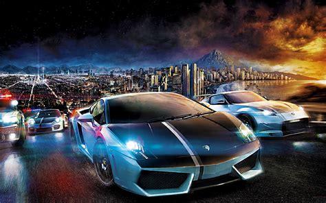 gece sehir otomobil sueruecueleri ilginc heyecan verici araba