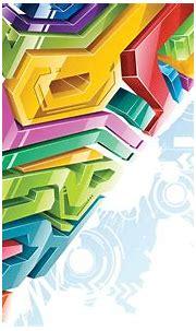 วอลเปเปอร์ : มีสีสัน, ภาพประกอบ, ศิลปะดิจิตอล, นามธรรม, 3D ...