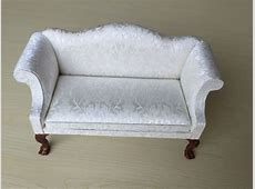 16 Dollhouse Furniture Couch Sofa Armchair With Carved