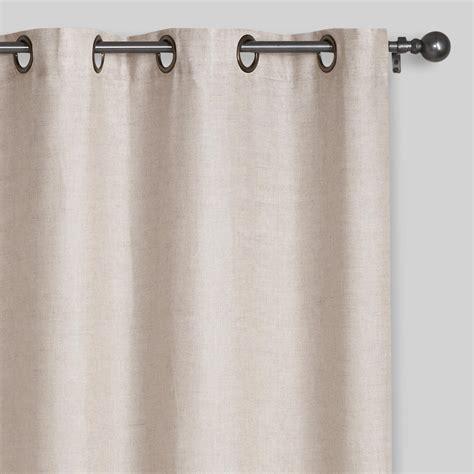 grommet top curtains linen grommet top curtains set of 2