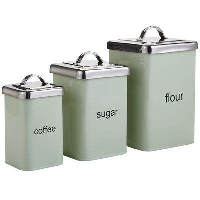 Kitchen Canisters Flour Sugar by Sugar Flour Coffee Canisters Wantster
