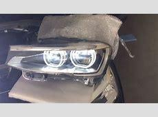 BMW F25 X3 LCI Adaptive LED Headlights Retrofitted by