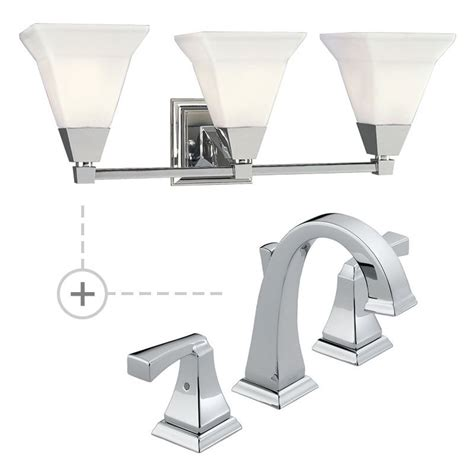 Matching Bathroom Fixtures by Delta 3551lf P3137 Chrome Dryden Widespread Bathroom