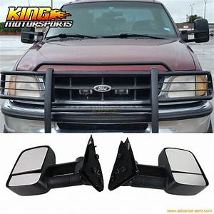 Fit For 97 04 Ford F150 F250 Side View Towing Tow Mirrors