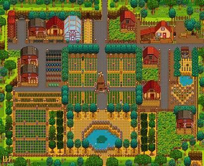 Farm Stardew Valley Layout Farms Designs Salad