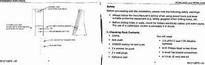 Honeywell 51376sl Wireless Door Chime Receiver User Manual