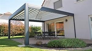 Cout D Une Pergola : prix d 39 une pergola bioclimatique tarif moyen co t d ~ Premium-room.com Idées de Décoration