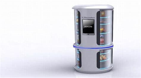 concept refrigerator  future axon future technology
