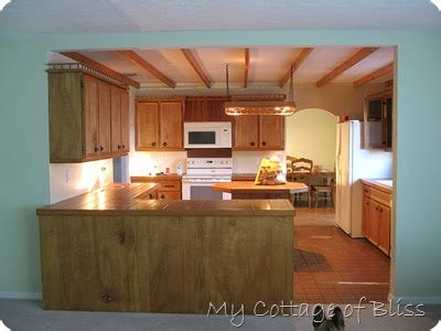 kitchen laminate floor my cottage of bliss metamorphosis of a kitchen from 2115