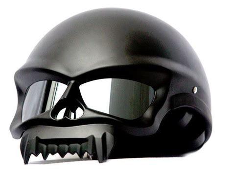 Masei 429 Motorcycle Chopper Open Face Helmet Matt Black M