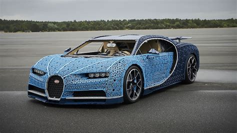 Like on the veyron, the chiron's transmission sends power to all four wheels. The Amazing Life-size Lego Technic Bugatti Chiron That Drives! - Design You Trust
