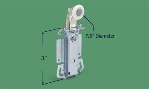 sliding closet door rollers replacement 23 196 bypass top roller assembly swisco
