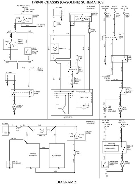 4 9 Engine Schematic by Diagram For Location For Fuel Relies For Ford 1989 4
