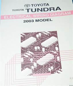 2005 Toyota Tundra Electrical Wiring Diagram Service Shop Repair Ewd Oem