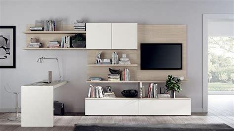 bureau meuble tv unités murales polyvalentes pour éfinir la salle de