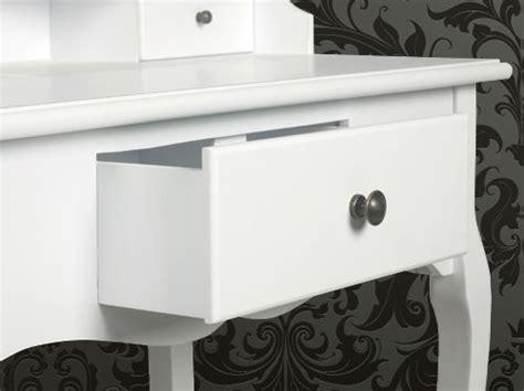 coiffeuse blanche si鑒e avec miroir inclus coiffeuse meuble bureau