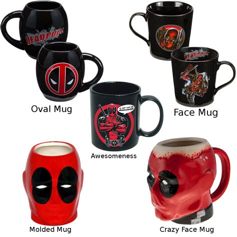 And 15 oz.) and are dishwasher and microwave safe! Deadpool Coffee Mug (Choose Your Design) Ceramic Dead Pool Comic X-Men Villain   eBay