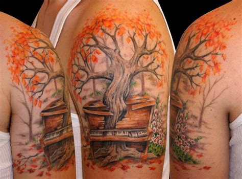 maple tree arm tattoo tattoomagz tattoo designs