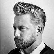 Classic Pompadour Haircut