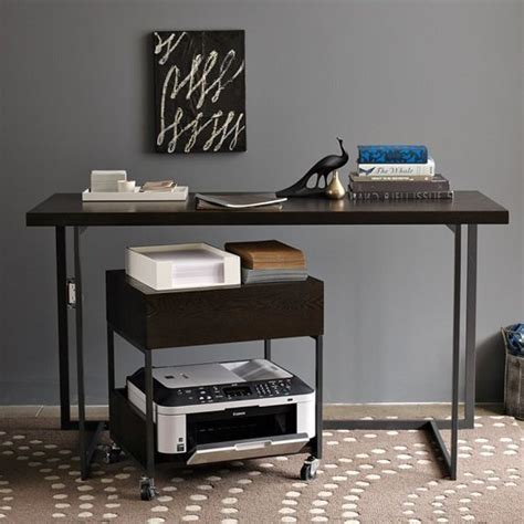 desk with printer cabinet printer stand ikea a smart solution to organize your