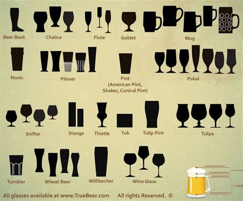 Know Which Type Of Glass Is Paired With Which Type Of