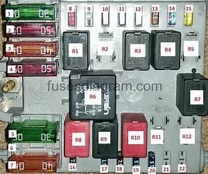 Alfa Romeo Mito Relay Diagram