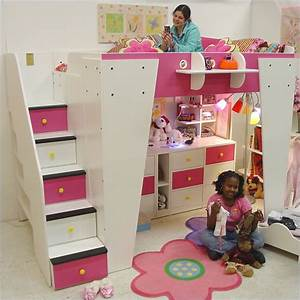 Berg Furniture Kid's Headquarters Loft Bed with Storage