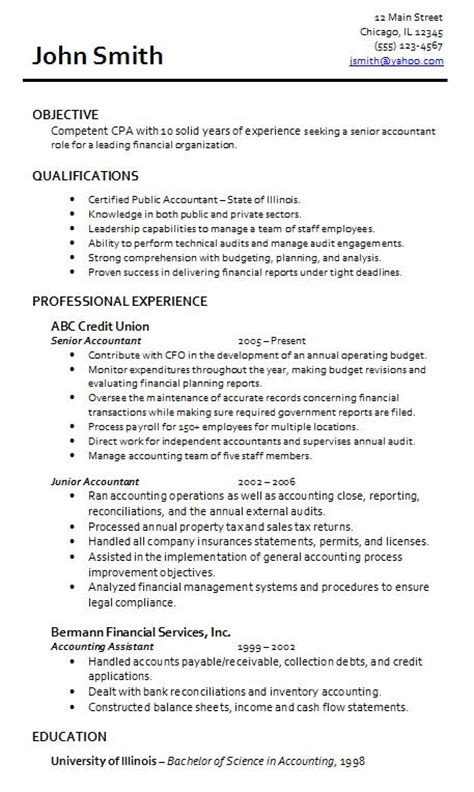 resume for an accountant accountant lamp picture accountant resume sample