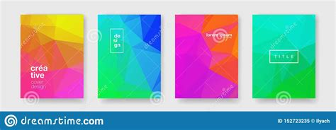 Geometric Wave Pattern Background Abstract Color Gradient