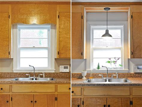 Kitchen Sink Lighting Ideas by Remove Decorative Wood Kitchen Sink And Install