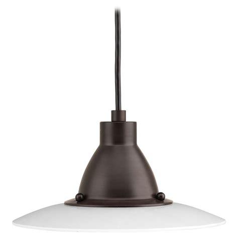 progress lighting avant antique bronze led mini pendant