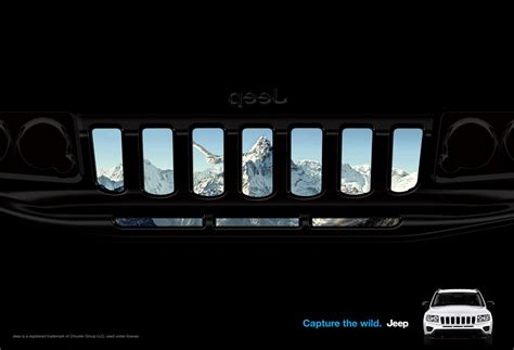 Jeep Grill Wallpaper by Jeep Print Advert By Publicis Grill Compass Ads Of The