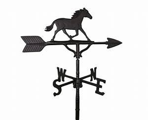 ALUMINUM HORSE WEATHERVANE (WV-274-B)