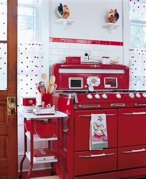 Red Retro Kitchen  Panda's House