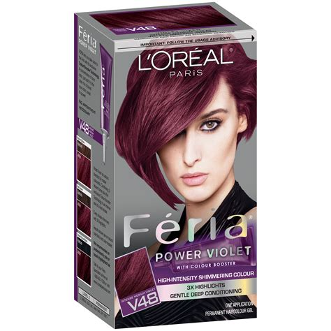 feria hair color purple l oreal feria 174 power hair color