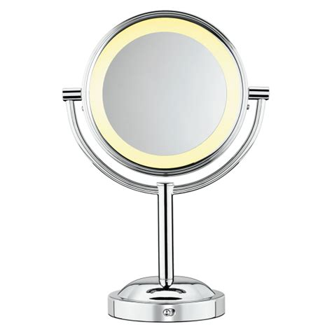 conair lighted mirror conair sided lighted makeup mirror