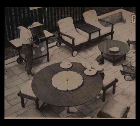 redwood lawn furniture   build plans table settee