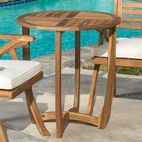 nice wood patio table Nice Round Wood Patio Table Design Wooden And Chairs Modern Furniture Storage F-clamps Outdoor ...