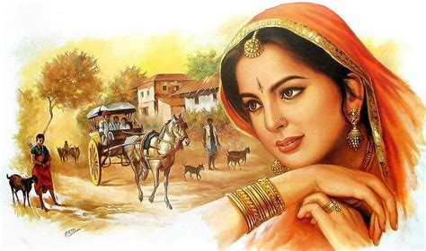 Indian Woman Wallpaper