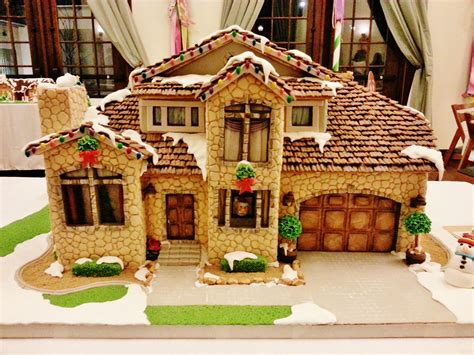 15 Incredibly Impressive Gingerbread Houses