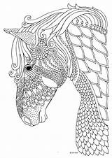 Coloring Pages Horse Printable Colorings Getcolorings sketch template