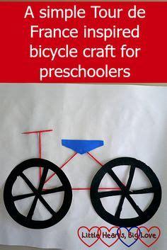 bicycle preschool craft teaching stuff