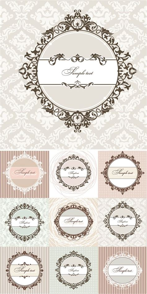 30 Best Images About Templates Anddigital Graphics 25 Best Ideas About Vintage Borders On Free