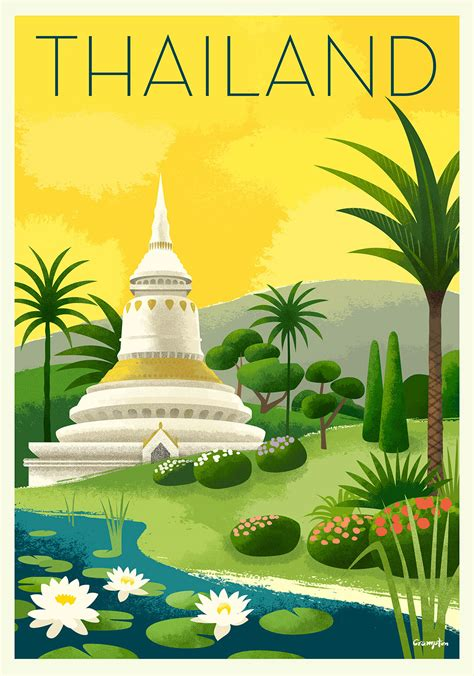TRAVEL POSTERS on Behance