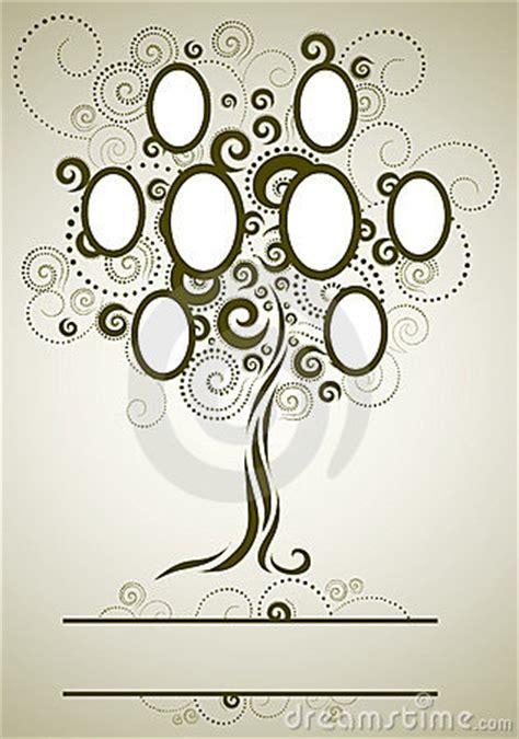 vector family tree design  frames stock photography