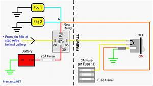 12v Relay Wiring Diagram 5 Pin  U2013 Volovets Info