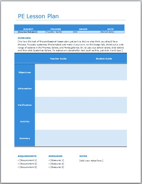 ready lesson plan archives blue layouts